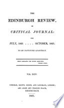 THE EDINBURGH REVIEW  OR CRITICAL JOURNAL  FOR JULY  1851   OCTOBER  1851 Book PDF