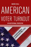 American Voter Turnout [Pdf/ePub] eBook