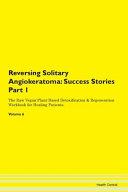Reversing Solitary Angiokeratoma