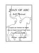 Joan of Arc, Self Portrait