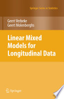 Linear Mixed Models For Longitudinal Data Book PDF