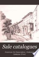 Sale Catalogues Book PDF