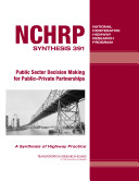 Public Sector Decision Making for Public-private Partnerships