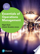 Essentials of Operations Management Book