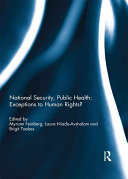 National Security, Public Health: Exceptions to Human Rights? Pdf/ePub eBook