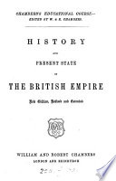 History and present state of the British empire