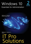 Windows 10  Essentials for Administration  2nd Edition