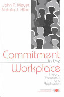 Commitment in the Workplace