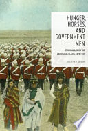 Hunger  Horses  and Government Men