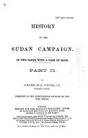 History of the Sudan Campaign