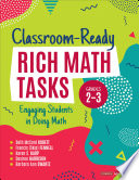 Classroom Ready Rich Math Tasks  Grades 2 3