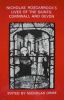Nicholas Roscarrock's Lives of the saints