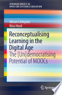 Reconceptualising Learning In The Digital Age Book PDF