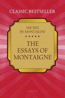 The Essays of Montaigne Book