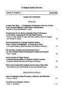 Criminal justice review Book PDF