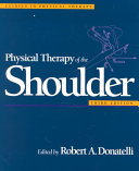 Physical Therapy Of The Shoulder Book PDF