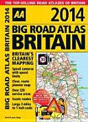 Big Road Atlas Britain 2014
