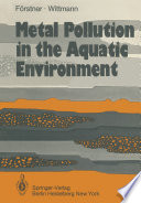 Metal Pollution in the Aquatic Environment