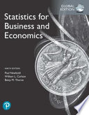Statistics for Business and Economics, Global Edition