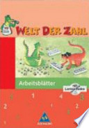 Welt der Zahl 3. Arbeitsheft mit CD-ROM. Berlin, Brandenburg, Mecklenburg,-Vorpommern