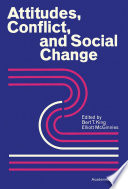 Attitudes Conflict And Social Change Book PDF