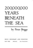 200,000,000 years beneath the sea