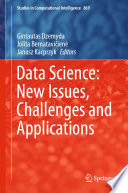 Data Science  New Issues  Challenges and Applications Book