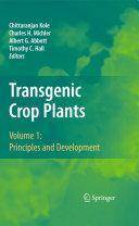 Transgenic Crop Plants