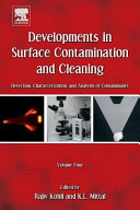 Developments in Surface Contamination and Cleaning Book