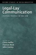 Legal-Lay Communication