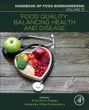 Food Quality  Balancing Health and Disease