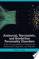 Antisocial, Narcissistic, and Borderline Personality Disorders