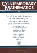 The Mathematical Legacy of Wilhelm Magnus