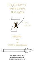 Proceedings   Society of Experimental Test Pilots Symposium