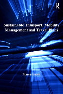 Sustainable Transport, Mobility Management and Travel Plans [Pdf/ePub] eBook