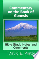 Commentary On The Book Of Genesis Bible Study Notes And Comments