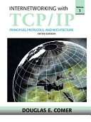 Cover of Internetworking with TCP/IP: Principles, protocols, and architecture