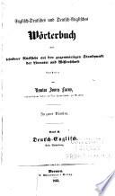 Englisch-Deutsches und Deutsch-Englisches Wörterbuch