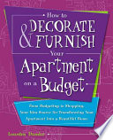 How to Decorate & Furnish Your Apartment on a Budget