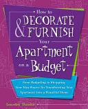 How to Decorate   Furnish Your Apartment on a Budget
