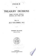 Treasury Decisions Under the Customs  Internal Revenue  and Other Laws Book PDF