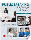 ISE Public Speaking for College and Career