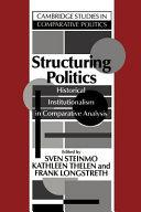 Structuring Politics