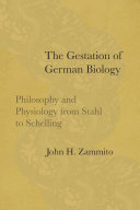 Pdf The Gestation of German Biology Telecharger