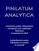 Statistische analyse: Elektronische marktplaats voor modelspoor Nederland (1e kwartaal van 2018)