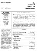 The Review of Popular Astronomy