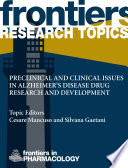 Preclinical and clinical issues in Alzheimer   s disease drug research and development Book