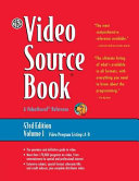 The Video Source Book Video Program Listings A B