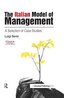The Italian Model of Management
