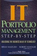 IT  Information Technology  Portfolio Management Step by Step